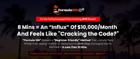 FORMULA 10K - Small Amount of Time into Huge Daily PROFITS, $10K / Month, Easy !