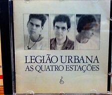 LEGIAO URBANA AS QUATRO ESTACOES RARE 1989 IMPORT 11-TRACK CD BRASIL