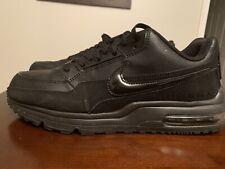 Men's Nike Air Max LTD 3 Running Shoes - Triple Black - Size 10