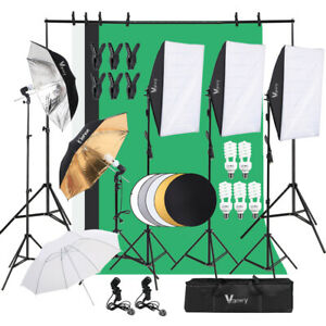 Lambency Box Umbrella Five-in-One Reflector Set Photo Studio Background Kit