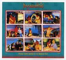 Disney Stamps Sheet : Pocahontas Animated Film   sheetlet #3