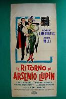 L11: The Ritorno By Arsenio Lupin Lamoureux Alida Valli Yves Robert