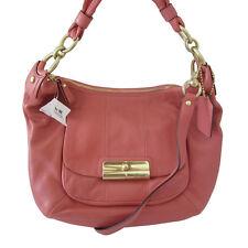 NWT Coach Kristin Leather Hobo Crossbody Shoulder Handbag 16808 Peony