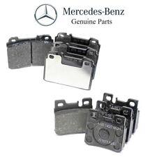 For Mercedes W124 300CE 300E 300TE 400E E320 Front & Rear Brake Pad Sets Genuine