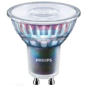 10 X Philips Master LEDspot LED GU10 5.5W Dimmable Warm White 2700K CRI97 240V
