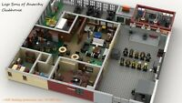 Modular Sons of Anarchy Clubhouse for Lego - INSTRUCTIONS ONLY - PDF FILE ONLY!