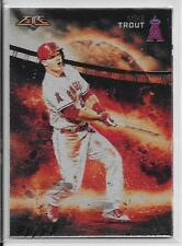 MIKE TROUT (California Angels) 2015 Topps Fire (2.5x3.5 METAL/METALLIC) #4/49