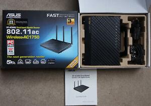 Asus RT-AC66u Router. Dual-Band wireless-AC1750 gigabit