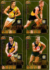 2011 Select AFL Champions Fab Four Gold Card Team Set (4):Richmond