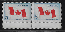 "Canada Stamps — 1965, Canadian Flag #439 ""With Error"" — See Scan"