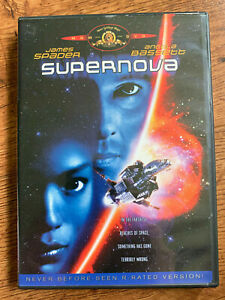 Supernova DVD 1999 Sci-Fi Movie w/ James Spader + Angela Bassett Region 1