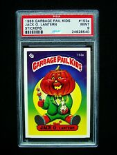 GARBAGE PAIL KIDS 1986 4th Series #153a Jack O. Lantern - OS4 -Graded PSA 9 MINT
