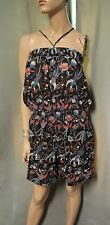 French Connection FCUK Birds Shorts Romper Large L