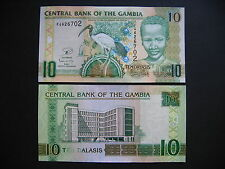 GAMBIA  10 Dalasis 2013  (P26)  UNC