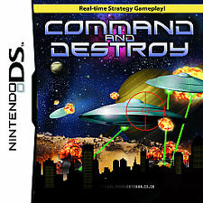 Command and Destroy Nintendo DS