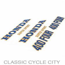 Honda CB 400 Four Tankdekor Seitendeckel Schriftzüge Tank Side Cover Decals