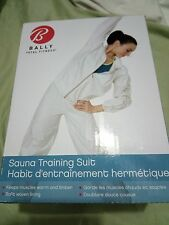 Bally Total Fitness Women's 2-piece Sauna Training Suit One Size White