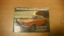 Ford Cortina mk3 owners handbook 1973