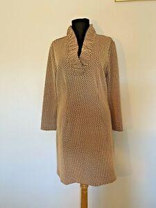 Tyler Boe Ruffle Neck Knit Dress - size Small