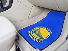Golden State Warriors Carpeted Car Mats - Set of 2 ID 82244