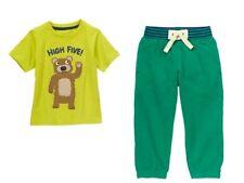 Gymboree Monstro-politan High Five Bear Tee Shirt & Active Pants Set Boys 5T NWT