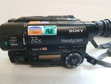 SONY HANDYCAM SONY CCD-TR425E VIDEO 8 XR VIDEO CAMERA