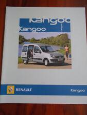 Renault Kangoo range brochure Aug 2006