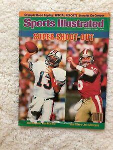 Sports Illustrated Super Bowl Preview Miami San Francisco 1985 Marino Montana