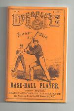 1867 6TH ANNUAL EDITION BEADLE'S DIME BASE-BALL PLAYER REPRINT BASEBALLS 1ST MAG