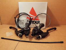 NOS Suntour XCD (6000 Series) MTB Brake/Shifter Levers w/Shifter Cables/Housing
