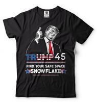 Trump 45 T-shirt Donald Trump US president 2020 T-shirt American Election Tee