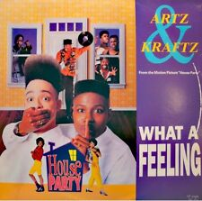 ARTZ & KRAFTS what a feeling (4 versions) BO HOUSE PARTY MAXI 1990 MOTOWN EX++