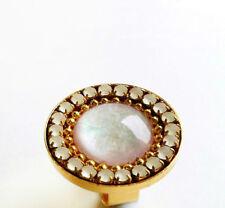 Handmade Round Bronze Costume Rings