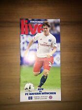 Programm Hamburger SV - FC Bayern München 24.09.16 FCB HSV