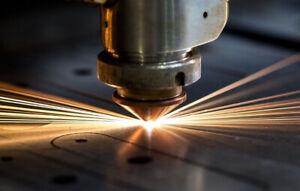 CNC Fiber laser cutting service 3000mm x 1500mm cutting area.