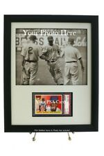 Custom Framed Display for your PSA Graded Card & Opening for 8x10 Photo