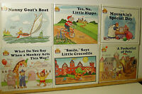Lot Of 10 HB Books Magic Castle Readers 1988 Jane Belk Moncure EXCELLENT!