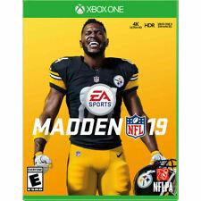 Madden Nfl 19 Used Sealed (Xbox One, 2018)