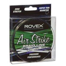 2x Rocchetti di 8lb ROVEX Airstrike BRAID-LENZA DA PESCA-Linea intrecciato