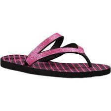 NEW SANUK Selene Crystal Pink Glitter Flip (Big Kid), Size 2-5