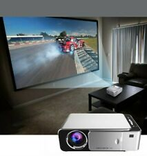 HYSWOW Movie Projector Full HD Mini Video Projector Support 1080P Home Theate...