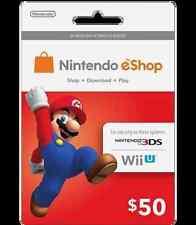 $50 US Nintendo eShop Gift Card