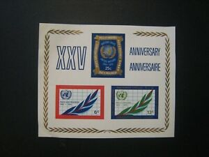 United Nations 15th anniversary s/s lot of 22 MNH OG