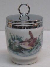 Vintage Royal Worcester Porcelain Egg Coddle Birds Pattern