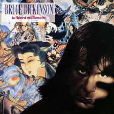 BRUCE DICKINSON - TATTOOED MILLIONAIRE, 2017 EU 180G vinyl LP, NEW - SEALED!