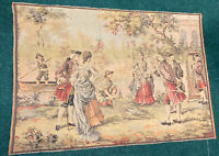 "ANTIQUE VICTORIA? HAND WOVEN FRENCH?TAPESTRY MADE IN BELGIUM? 57.5"" By 39.5"""