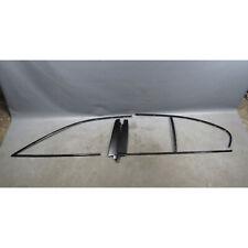 2004-2010 BMW E60 5-Series High Gloss Shadowline Exterior Trim Set Genuine OEM