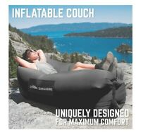 Chillbo Shwaggins easy Inflatable Couch Cool Inflatable Chair Black camping hike