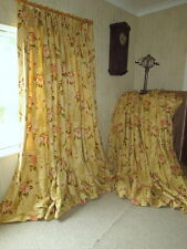 Superb Sanderson 'Lavinia Fern' Country House Large & Wide Interlined Curtains