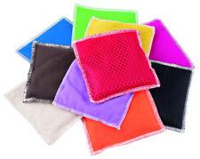 Bohnensäckchen aus verschieden Materialien (10er-Set) | Beanbags | 12,5 x 12,5cm